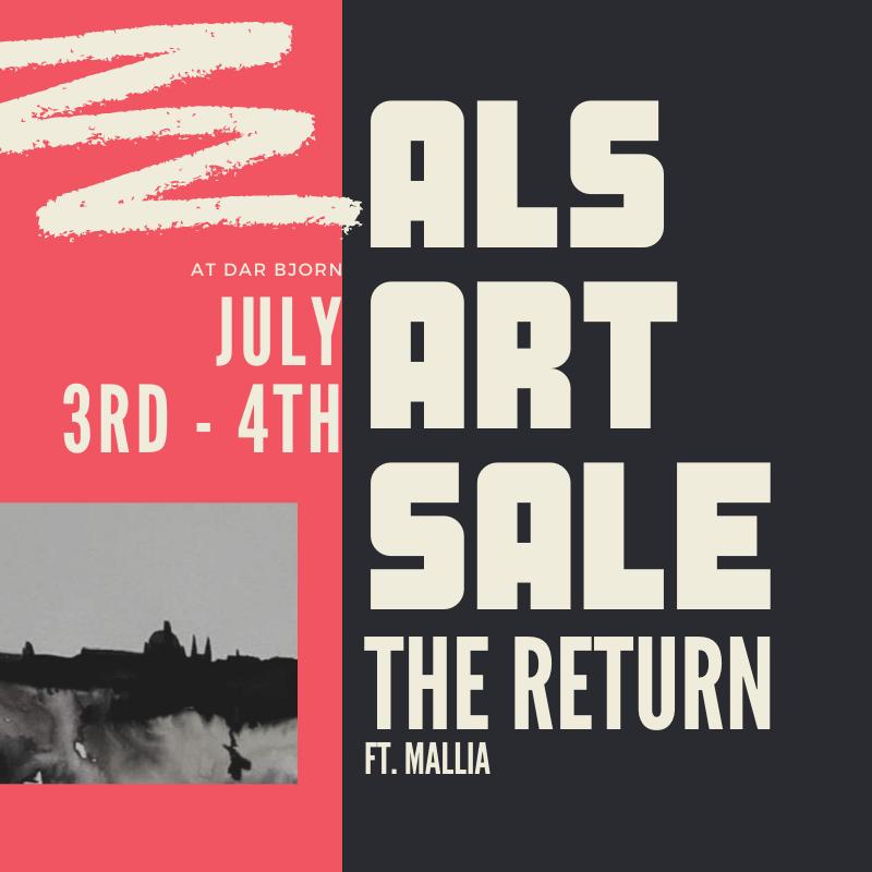 ALS ART SALE